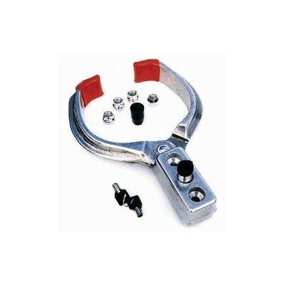 EZ Jack EZ 300 Wheel Chock Lock w/ Keys Prevent Trailer RV Theft Quick