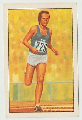 1976 Portugese Olympic Games Sticker Finland Distance Runner Lasse Viren #169