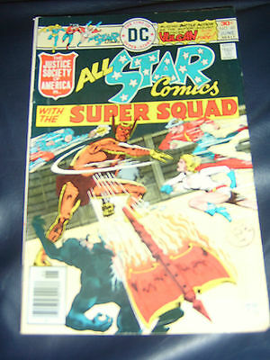 All Star Comics #60 June 1976 (FN) Bronze Age With Justice Society Of America