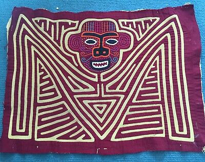 Mola, Wall Hanging, Local Art From Peru