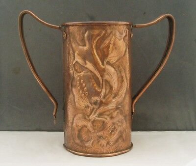 Keswick School Of Industrial Art Ksia Large Arts & Crafts Copper Loving Cup A/f