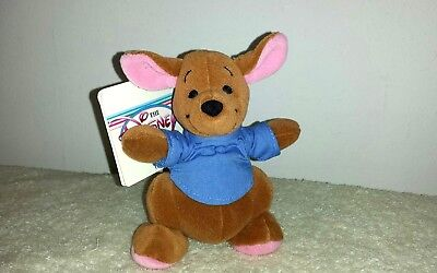Disney Store Authentic  Roo Winnie the Pooh Plush Stuffed Beanie