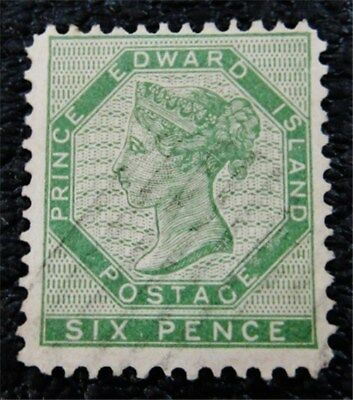 nystamps Canada Prince Edward Island Stamp # 7 Used $95
