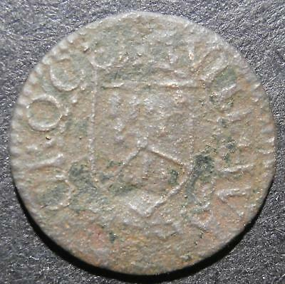 17th century farthing token - Hertfordshire Baldock Will Warre (A) - D.16