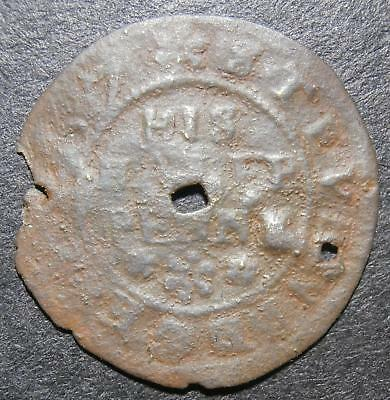 17th century halfpenny token - Hertfordshire Stevenage 1667 Robert Smith - D.190