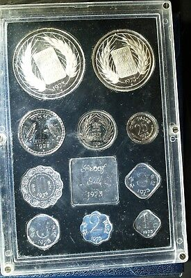 1973 India Proof Set - all ORIGINAL packaging - light toning
