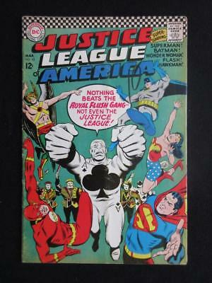 Justice League of America #43 MARVEL 1966 - 1st app The Royal Flush Gang!!!!