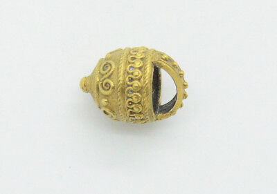Medieval Viking period silver & golden aroma capacity