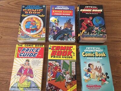 Overstreet Comic Book Price Guide Lot of 19 Books #14-38 (1984-2007)  FN/VF