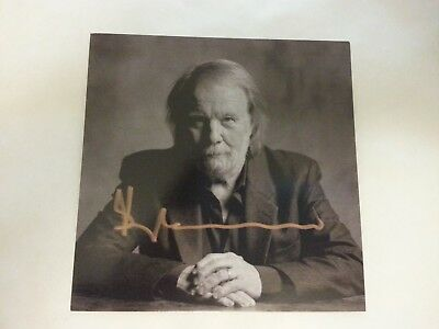 ABBA - Benny Andersson - Piano (POSTCARD - AUTOGRAPHED SIGNED IN GOLD - 2017)