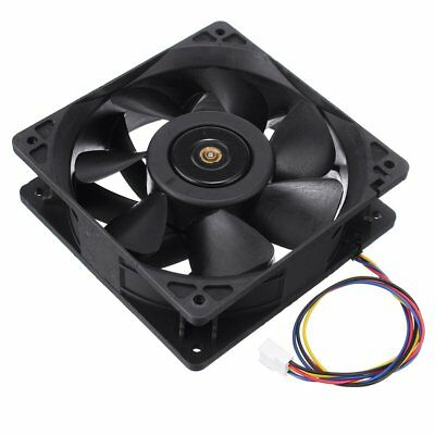 6000 RPM Cooling Fan Replacement 4-pin Connector For Antminer Bitmain S7 S9 UK