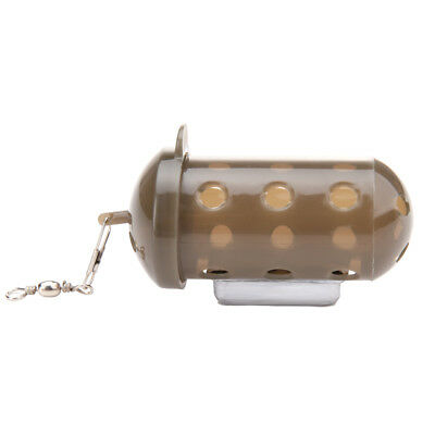 UN3F Carp Fishing Feeder Bait Cage Lure Pit Device with Lead Pellet