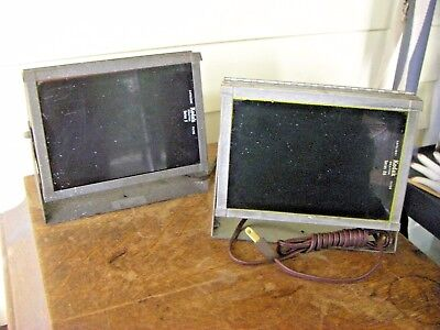 Vintage Pair of Kodak 2 Way Safe Lamp Darkroom Safelights Series 2 & Series OA