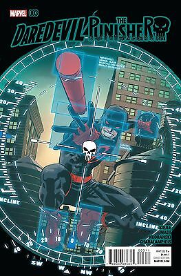 DAREDEVIL PUNISHER #3, New, First print, Marvel Comics (2016)