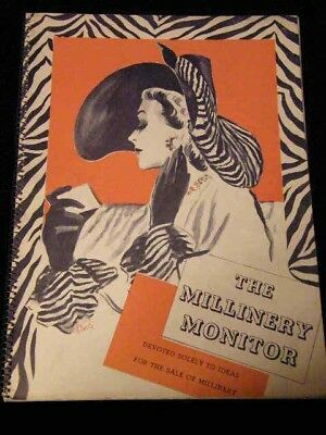 ~THE MILLINERY MONITOR MAGAZINE~~~JULY, 1941~~~FABULOUS '40s HATS~NR