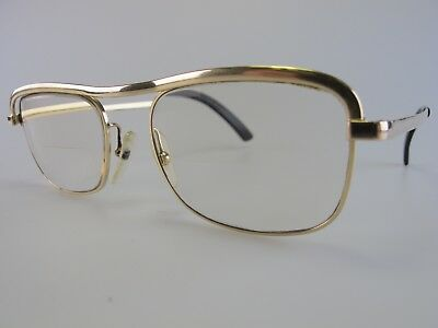 Vintage Essel Gold Filled Eyeglasses Frames Size 49-19 Made in France
