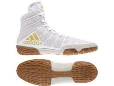Adidas Wrestling Varner White White Boots Shoes Adults - DA9891