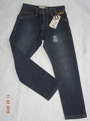 BNWT Regular Blue Jeans ANIMAL Size BXS Age 7/8
