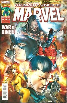 THE MIGHTY WORLD OF MARVEL # 15 (VOL 4) / PANINI COMICS UK / 24th NOV 2010 / N/M