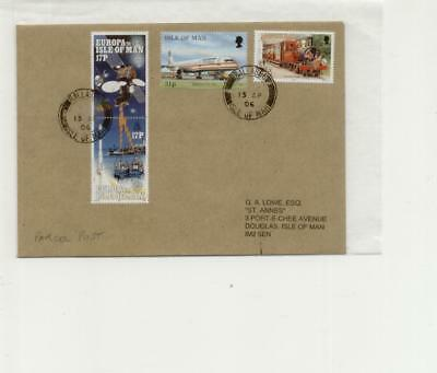 Isle of Man 2006 Ballabeg Parcel Post Cover