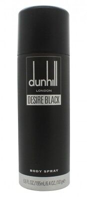 Dunhill Desire Black Body Spray - Men's For Him. New. Free Shipping