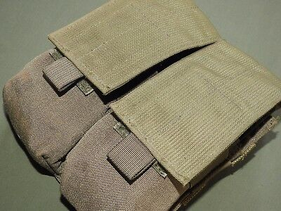 US Army GWOT TACTICAL ASSAULT GEAR MOLLE TWO CELL FOUR MAG AMMO POUCH EXC TAG