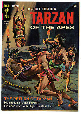 JERRY WEIST ESTATE: TARZAN OF THE APES #156 (Gold Key 1966) VF/NM!