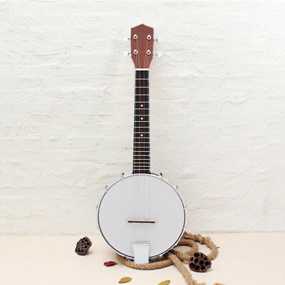 1Pc 6-string Shabili Holz Legierung Log Color Banjo Exquisit Professional  2018