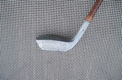 Vintage Wood Shaft Mills Aluminum Mallet Good Play Weight Medium Lie