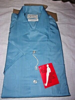 Vintage HARWYN 70's Dress Shirt 15 ½  MENS NEW WITH TAG