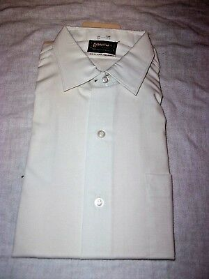 Vintage Wasson's 60's Dress Shirt 15 / 35  MENS NEW WITH TAG