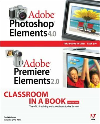 Adobe Photoshop Elements 4.0 and Premiere ... by Adobe Creative Team, 0321413407