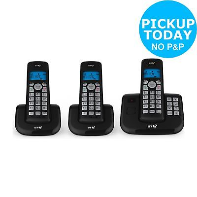BT 3560 Cordless Telephone with Answer Machine - Triple - Argos on eBay