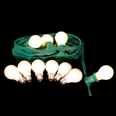 10M Lighting IP44 Indoors & Outdoors 10 Lightbulb 15W E27 Mat Illu