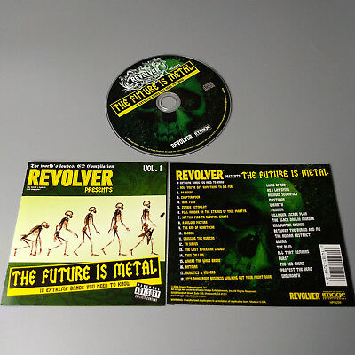 Revolver The Future Is Metal USA CD [Lamb Of God, Unearth,Burst ] MINT #1071