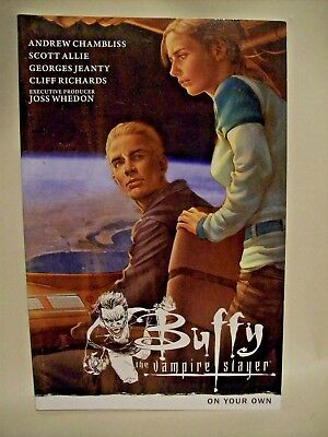 """Graphic  Novels """" Buffy The Vampire Slayer """"   On  Your  Own     2012"""