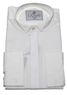 Dress shirt, Wing Collar, WHITE, choose size