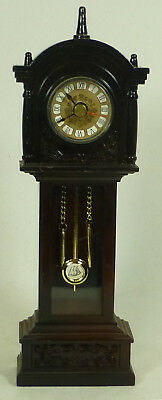 Vintage Miniature Grand Father/Mother Clock