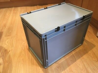 Storage Box/Euro Large And Deep , Open Handles