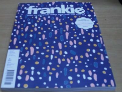 Frankie magazine #81 2018 The one-off lovely big issue + recipes wrapping paper