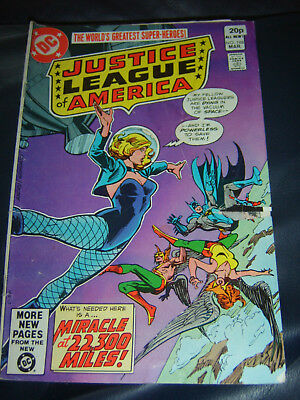Justice League of America #188 Mar 1981 (VG-)