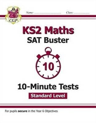 NEW KS2 MATHS TARGETED SAT BUSTER 10MINU, CGP Books, CGP Books, 9...