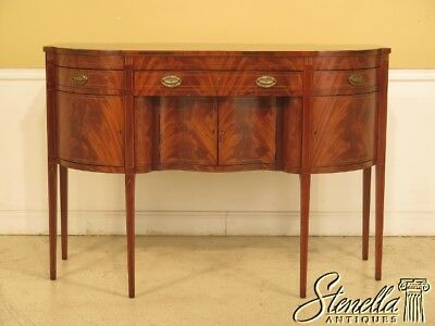 43904EC: KITTINGER CW-26 Colonial Williamsburg Inlaid Mahogany Sideboard