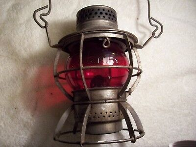 Great Northern lantern by Dressel with GN globe
