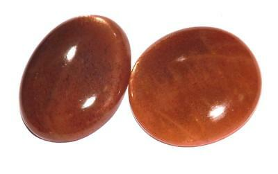 68.80 cts  Natural Earth Mined Quality Sunstone Cabochon Gemstone Lot #hssl21