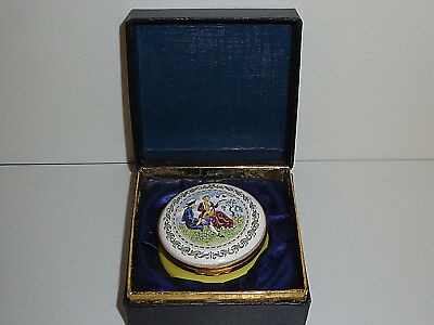 Crummles Enamels Trinket Box ,  Very Rare Musical Box , Box And Papers 15/200
