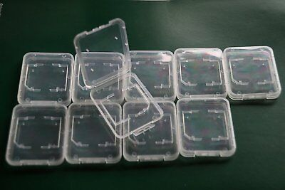 MemoryPack Memory Card Plastic Storage Jewel Case SD MMC SDHC DUO for 10 Cards
