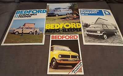 bedford fold out booklets