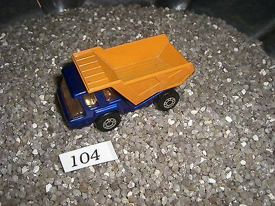 Muldenkipper blau / orange MATCHBOX  Made in England by Lesney 1975