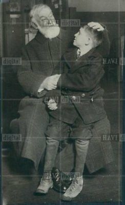 Orig Photo 1926 Freddy Spencer with Dr. Lorenz